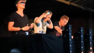 Ruthless & Coone hosted by Mc Chucky @ Sunset festival 2012