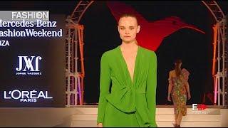 JORGE VAZQUEZ Highlights MBFW 2018 Ibiza - Fashion Channel