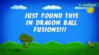 FOUND THIS IN DRAGON BALL FUSIONS! (Description for info)