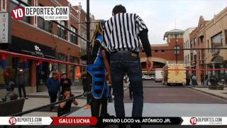 Atomico Jr. vs Payaso Loco Maxwell Street Chicago