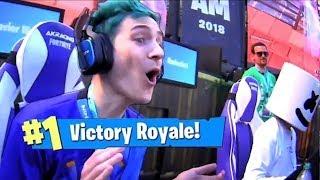 Ninja Wins PRO AM Fortnite Tournament! *Fortnite Pro-Am Moments* - Fortnite Highlights