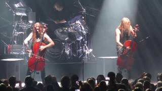 Apocalyptica - Nothing Else Matters LIVE (12. 2. 2017, Prague, Forum Karlín)