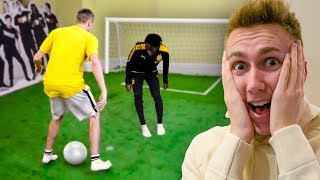 I put a FOOTBALL PITCH in the SIDEMEN HOUSE