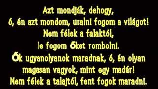 Walk Off the Earth - Rule the World ^ with Hungarian subtitles ^ Magyar felirattal