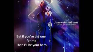 Sterling Knight - Hero Unplugged (LYRICS ON SCREEN) HD