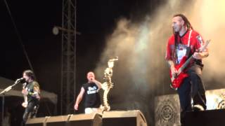 Five Finger Death Punch Mama Said Knock You Out FRONT ROW Rock USA 2014
