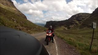 Scottish NW500 encounter on route
