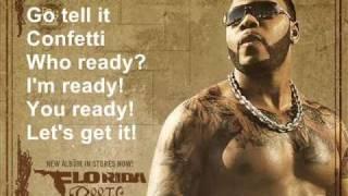 Flo Rida feat. David Guetta-Club can't handle me [Lyrics On Screen]