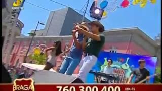 """LEO & LEANDRO """"Faz de conta"""" em Braga no Somos Portugal TVI  - Contacto para Festas"""
