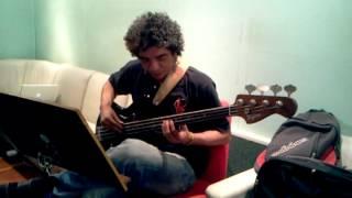 Arthur Maia gravando Ilana e a banda dos bichos - Pai de amor