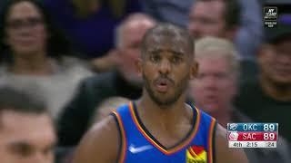 Final Minutes, Oklahoma City Thunder vs Sacramento Kings, 12/11/19 | Smart Highlights