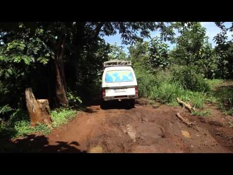 Road from Juba to Yei in South Sudan Africa 3