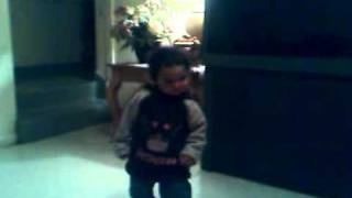 Baby Girl Dancing To 5' O Clock By T pain