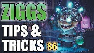 ZIGGS Tips & Tricks! - League Of Legends - LoL