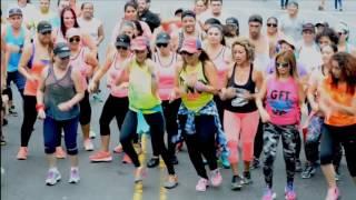 Coreografia Costa Rica Sacudete la Arena