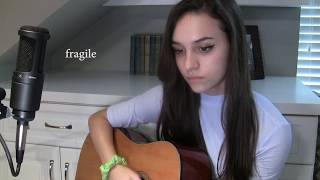fragile - gnash ft. wrenn (cover) / veda day 1