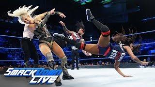 Naomi & Jimmy Uso vs. Lana & Aiden English: SmackDown LIVE, June 5, 2018