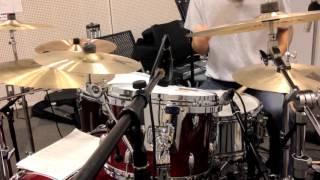 【DrumCover】Gospel of the Throttle 狂奔 Remix Ver.叩いてみた【TV.size】