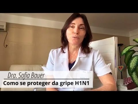 Médica ensina dicas para prevenir gripe H1N1