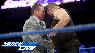 Kevin Owens brutally attacks Mr. McMahon: SmackDown LIVE, Sept. 12, 2017 width=