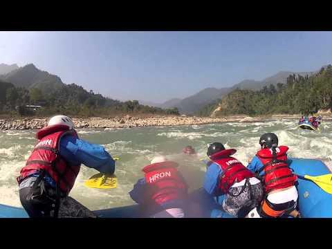 Nepal Whitewater Rafting Trailer – مختصر رحلة التجديف في نيبال