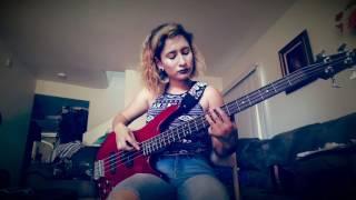 Los malaventurados no lloran- Pxndx (bass cover)