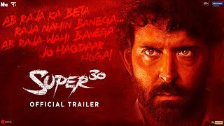 Super 30 | Official Trailer | Hrithik Roshan | Vikas Bahl | July 12