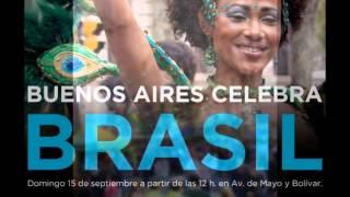 BUENOS AIRES CALEBRA BRASIL 2013  -ME LEVA QUE EU VOU