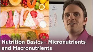 Nutrition Basics - Micro-nutrients and Macro-nutrients
