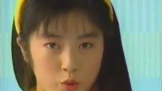 高岡早紀 menicon メニコンソフトMA  なつかしいCM 1990年