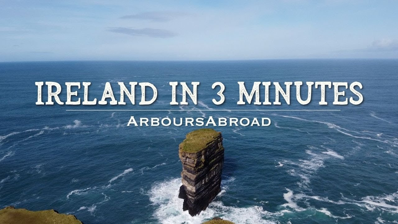 Ireland in 3 Minutes | Irish Countryside Video | Ireland Drone Footage