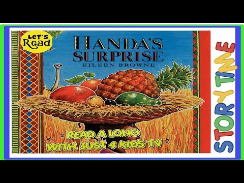 Handas Suprise | Eileen Browne | Read along | bedtime story | picture book | - YouTube