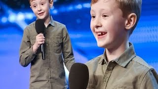 Britain's Got Talent Judges Stunned After Schoolboy Comic Ned Woodham, 8, Gives Them Savage Roasting