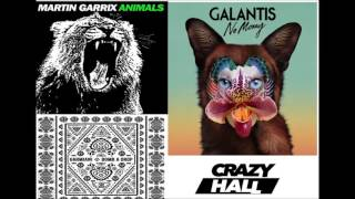 Animals ft. No Money & Bomb a Drop ( Crazy Hall Mashup )