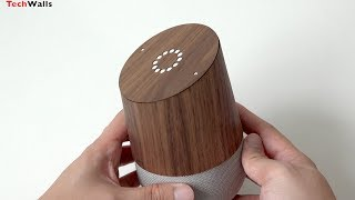 TOAST Real Wood Cover for Google Home