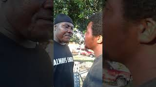 Drunk Man Wants to fight Dope Dealer