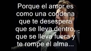 David Bustamante ~ Me Arrepiento ( Letra )