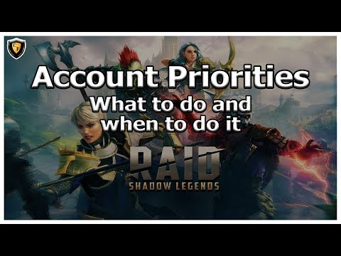 RAID Shadow Legends | Account Priorities | What do to and when to do it