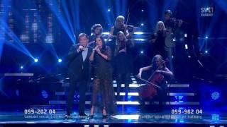 Lotta Engberg and Christer Sjögren - Don't let me down (Melodifestivalen 2012)