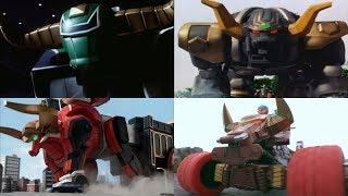 Power Rangers summon the Bull Zords   Zeo - Ninja Steel   Neo-Saban Superheroes Bulls