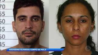 Corpo de mulher estrangulada é encontrado em mala; namorado está foragido