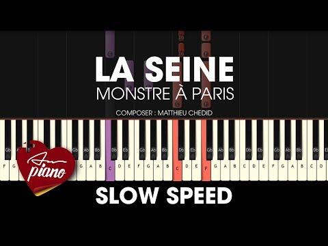 Comment jouer la Seine de Matthieu Chedid au piano (Monstre à Paris)