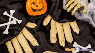 Witch finger cookies - Halloween recipe