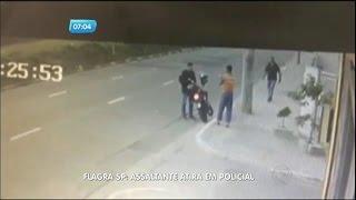 Flagrante: bandido mata policial a tiros durante assalto na zona leste de São Paulo