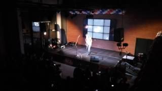 Derek Brown — What is love (Haddaway cover, live in Krasnoyarsk, 23.03.2017)