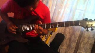 black veil brides legacy solo cover