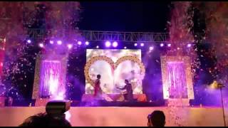 Stage Gerbs, Wedding Fireworks, Confetti Blast Paper Blast in Wedding Event by Spark Pyrotechnic