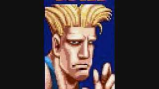Guile Stage - Street Fighter II Turbo SNES Remastered