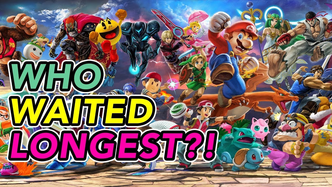 Which Smash Character Waited The Longest To Join The Battle?