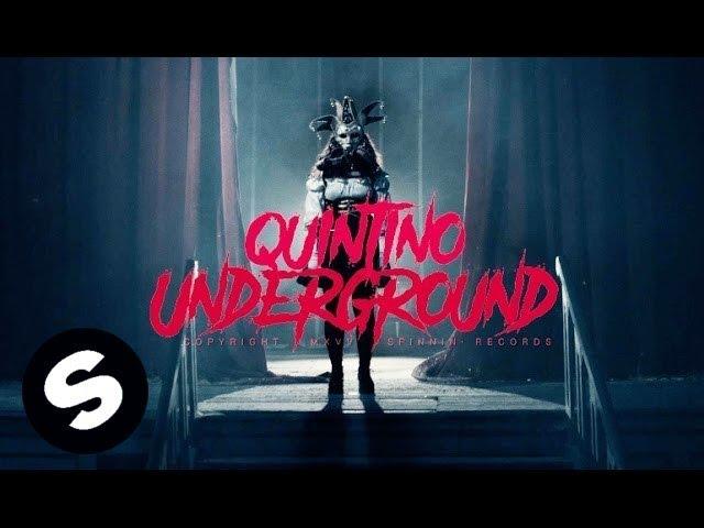 Vídeo musical oficial de 'Underground', de Quintino.